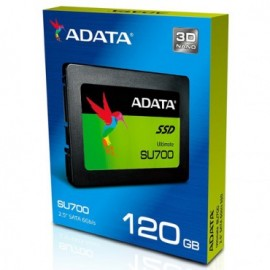 Slika SSD 120GB ADATA Ultimate SU700, ASU700SS-120GT-C, 2.5″, 7mm, SATA 3, read up to 560 MB/s, retail