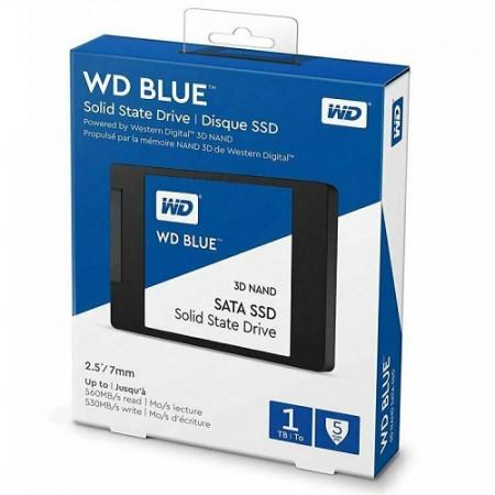 Slika SSD 1TB WESTERN DIGITAL Blue WDS100T2B0A, 2.5″, 7mm, SATA 3