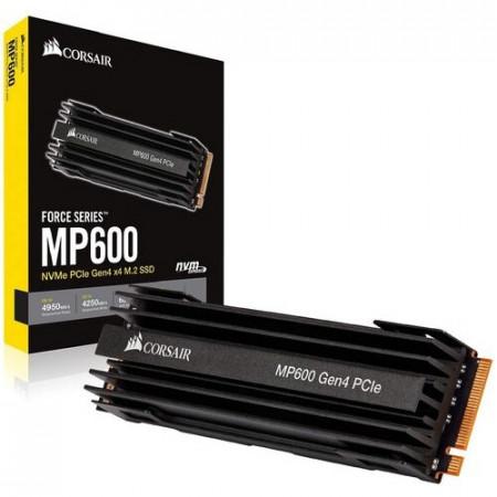 Slika SSD 500GB Corsair Force Series MP600 , CSSD-F500GBMP600 ,Gen4 x4, M.2 2280, 4950/2500 MB/s