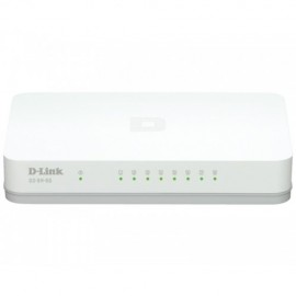 Slika Switch D-LINK GO-SW-8G, 8-Port 10/100/1000 Mbps, Gigabit
