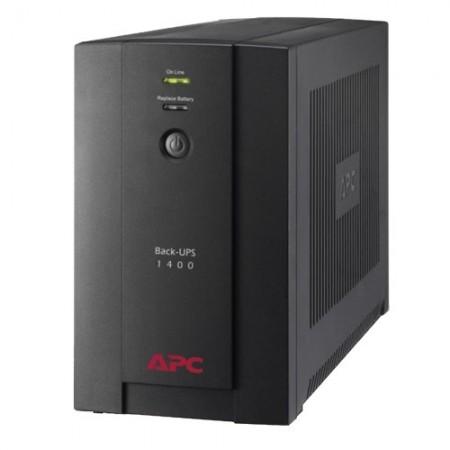 Slika UPS APC BX1400U-GR, Back UPS, 1400VA/700W, Schuko Sockets, black