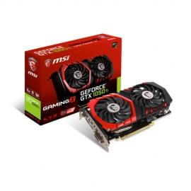 Slika VGA MSI GeForce GTX 1050 Ti GAMING X 4G, 4GB DDR5, 128-bit, 1493 MHz / 1379 MHz