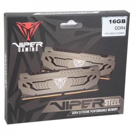 Slika 16GB (2 x 8GB) DDR4/3200 PATRIOT Viper Steel Series Dual Channel PVS416G320C6K