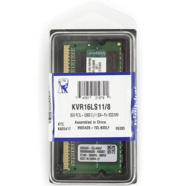 Slika 8 GB DDR3/1600 SO-DIMM, KINGSTON KVR16LS11/8, 1.35V, CL11