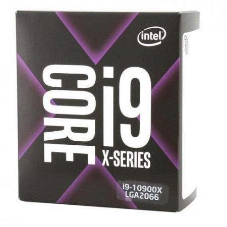 CPU INTEL i9-10900X, 10-Core, 3.7GHz (4.5GHz), 19.25MB, 165W, LGA 2066, BOX images