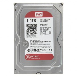 Slika HDD 1TB WESTERN DIGITAL Red, WD10EFRX, NAS, 64MB, SATA 3