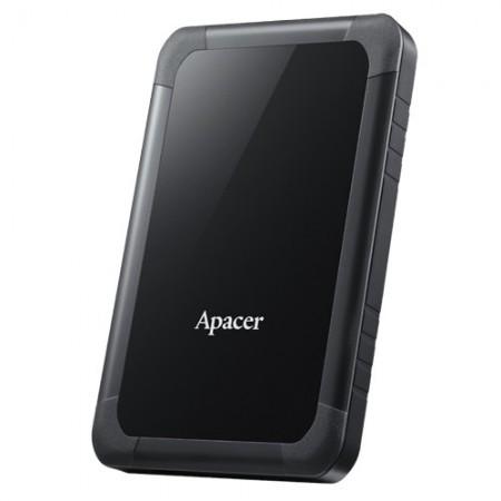 "Slika HDD External 2TB APACER AC532 ShockProof, AP2TBAC532B-1, USB 3.0, 2.5"", black"