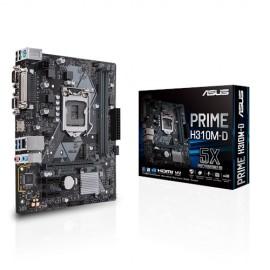 Slika MB ASUS PRIME H310M-D, Intel H310, DDR4, VGA, HDMI, LPT, COM, LGA 1151