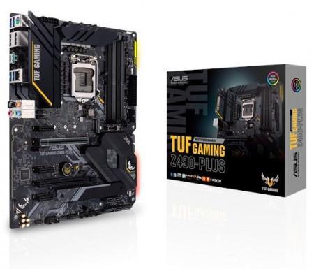 Slika MB ASUS TUF Gaming Z490-Plus, Intel Z490, s.1200
