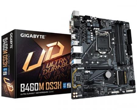 Slika MB Gigabyte B460M DS3H, Intel B460, s.1200