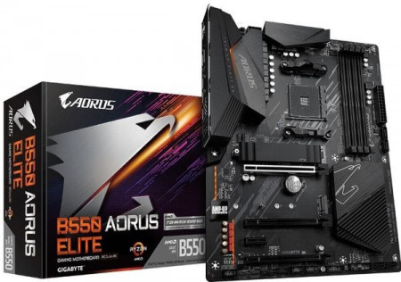 Slika MB GIGABYTE B550 AORUS ELITE, AMD B550, 4XDIMM, AM4