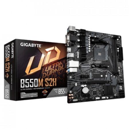 Slika MB GIGABYTE B550M S2H, AMD B550, s.AM4
