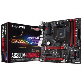 Slika MB GIGABYTE GA-AB350M-Gaming 3, AMD B350, s.AM4