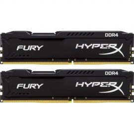 Slika 16GB (2x8GB) DDR4/2400 KINGSTON HX424C15FB2K2/16, HyperX FURY Black, kit