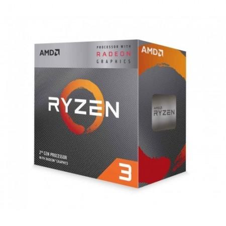 Slika CPU AMD Ryzen 3 3200G, 3.6GHz (4.0GHz), Radeon™ Vega 8, 4 cores, AM4, BOX