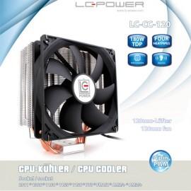 Slika CPU Hladnjak LC POWER Cosmo Cool LC-CC-120, 4 heatpipe, 180W TDP