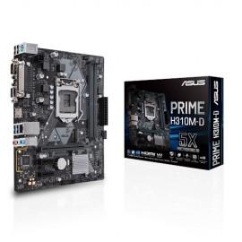 Slika MB ASUS PRIME H310M-K, Intel H310, DDR4, VGA, DVI, LGA 1151