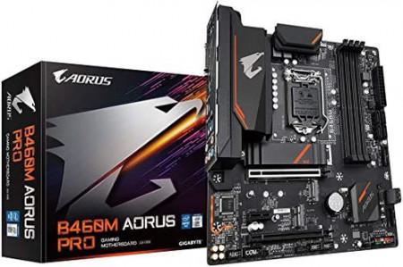 Slika MB Gigabyte B460M AORUS PRO, Intel B460, s.1200