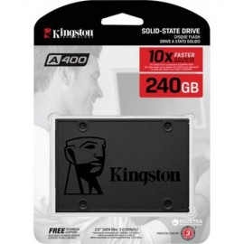 Slika SSD 240GB KINGSTON A400, SA400S37/240G, SATA III, 500/350 MB/s