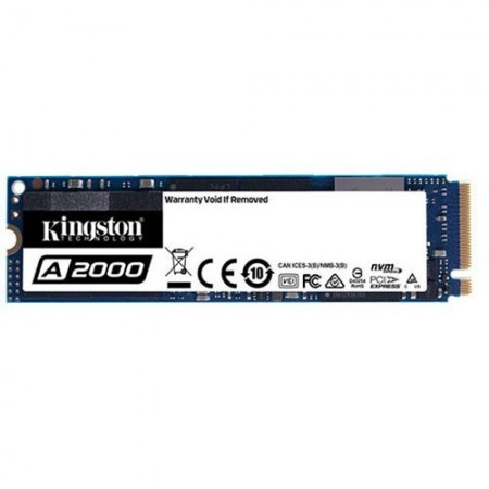 Slika SSD 250GB KINGSTON SA2000M8/250G, 2000/1100 MB/s, PCIe NVMe M.2 2280