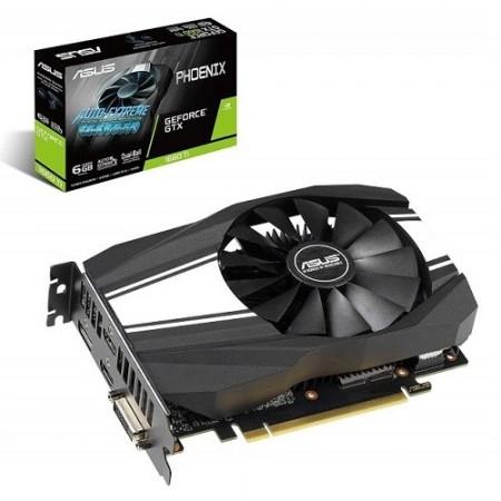 Slika VGA ASUS PH-GTX1660TI-6G, nVidia GeForce GTX 1660Ti, 6GB DDR6, 192-bit