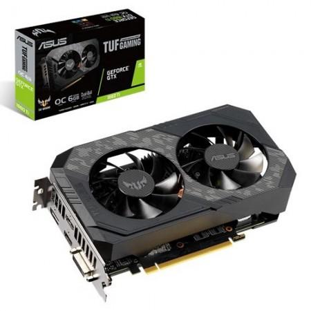 Slika VGA ASUS TUF-GTX1660TI-O6G-GAMING, nVidia GeForce GTX 1660Ti, 6GB DDR6, 192-bit