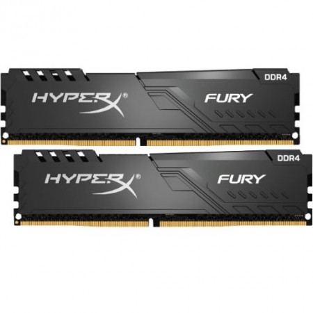 Slika 32GB (2 x 16GB) DDR4/3200 KINGSTON HX432C16FB3K2/32, HyperX Fury