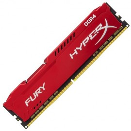 Slika 8 GB DDR4/2666 KINGSTON HX426C16FR2/8, HyperX FURY Red