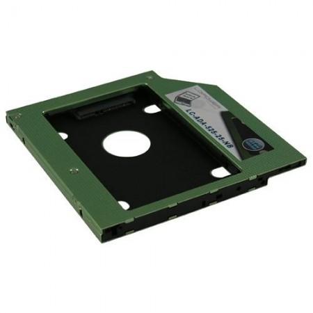 Slika Adapter za ugradnju SSD-a u notebook LC Power LC-ADA-525-25-NB, 9.5mm