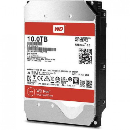 Slika HDD 10 TB WESTERN DIGITAL RED, WD100EFAX, NAS, 256MB, SATA 3