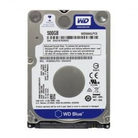 Slika HDD 500GB WESTERN DIGITAL Blue WD5000LPCX, 5400rpm, 16MB, 2.5