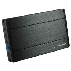 Slika HDD rack LC POWER LC-25U3-Diadem, 2.5″, SATA, USB 3.0, HDD height 12.5 mm, aluminium, black