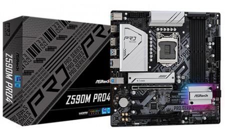 Slika MB ASROCK Z590M Pro4, Intel® Z590, 4 x DDR4, s.1200