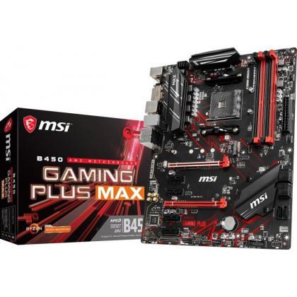 Slika MB MSI B450 GAMING PLUS MAX, AM4, AMD B450, 4 x DIMM