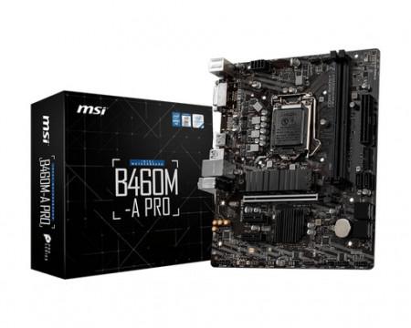 Slika MB MSI B460M-A PRO, Intel B460, s.1200