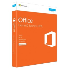 Slika Microsoft Office Home and Business 2016, 32/64 bit, English CEE Only EM, DVD, Full Packaged Product (T5D-02710)