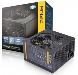 Slika Napajanje 600W ANTEC VP600P, 12cm fan, Active PFC, up to 88% efficient