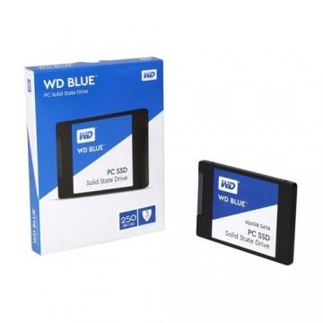 Slika SSD 500GB WESTERN DIGITAL Blue WDS500G2B0A, 2.5″, 7mm, SATA 3