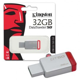 Slika USB Flash Drive 32GB KINGSTON DataTraveler 50 DT50/32GB, USB 3.1