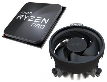Slika CPU AMD Ryzen 5 PRO 4650G, 3.7GHz (4.2GHz), Radeon™ Graphics, 6C/12T, AM4, MPK