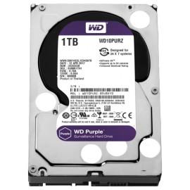 Slika HDD 1TB WESTERN DIGITAL Purple, WD10PURZ, 64MB, 5400rpm, za video nadzor, SATA 3