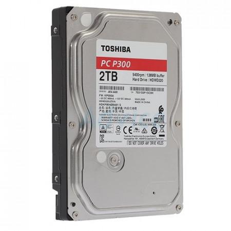 Slika HDD 2TB TOSHIBA HDWD220UZSVA, P300, 128MB, 5400 rpm, SMR, SATA 3
