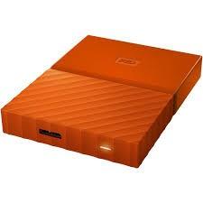 Slika HDD External 1TB Western Digital, WDBYNN0010BOR-WESN, USB 3.0, 2.5″, narandzasti