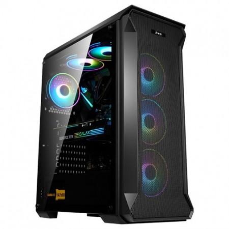 Slika Kućište MS TITAN II PRO, Tempered glass RGB, 4 x ARGB fan + controler, 2 x USB 3.0, bez napajanja
