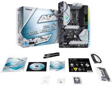 Slika MB ASROCK Z590 Steel Legend, Intel® Z590, 4 x DDR4, s.1200