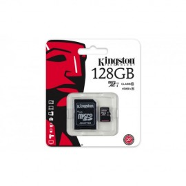 Slika Memorijska kartica 128GB KINGSTON SDC10G2/128GB, micro SDHC, UHS-I, class 10, 45MB/s, for Full HD