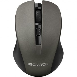 Slika Miš CANYON CNE-CMSW1, WIRELESS, USB, GRAPHITE