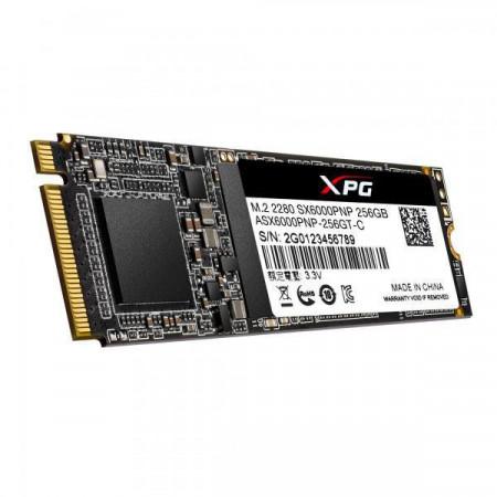 Slika SSD 256GB ADATA ASX6000PNP-256GT-C Pro, PCIe Gen3x4, NVMe, up to 2100/1500MB/s