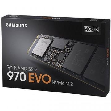 Slika SSD 500GB SAMSUNG 970 EVO, MZ-V7E500BW, M.2 PCIe 3.0 x4, (NVMe 1.3), 3400/2300 MB/s