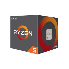 Slika CPU AMD Ryzen 5 2600X, 3.6GHz (4.2 GHz), 6 Cores, 16MB L3 Cache, 12nm, 95W, AMD Wraith Spire cooler, Socket AM4